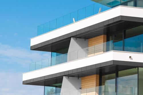 Glass Apartment Balustrades